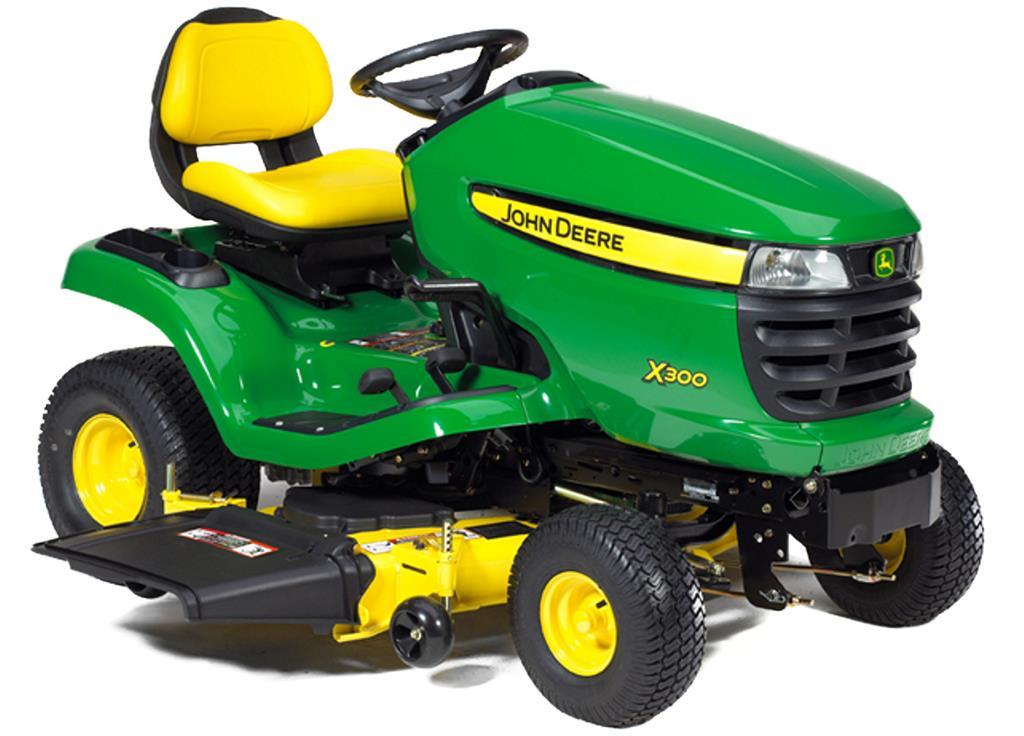 vrtni traktor john deere x300  agronetsi