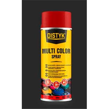 DISTYK multi color sprey OGNJENO RDEČA 400 ml