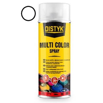 DISTYK multi color spray, signalno bela 400 ml