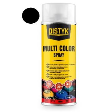 DISTYK multi color spray, mat črna 400 ml