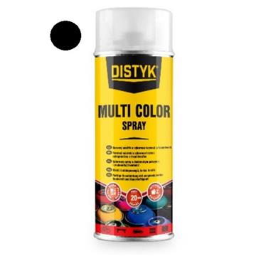 DISTYK multi color spray, črna 400 ml