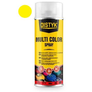 DISTYK multi color spray, cink rumena 400 ml