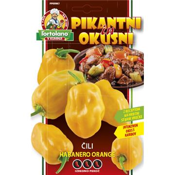 Čili Habanero Orange 0,5g